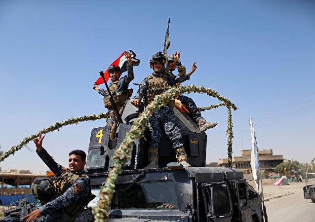 中国外交部:中方祝贺伊拉克成功解放摩苏尔