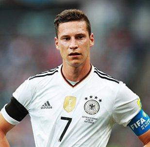 德国队队长朱利安·德拉克斯勒