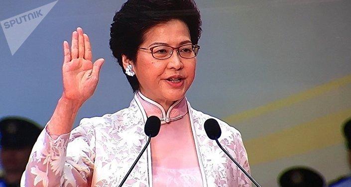 香港特别行政区第五届政府就职典礼