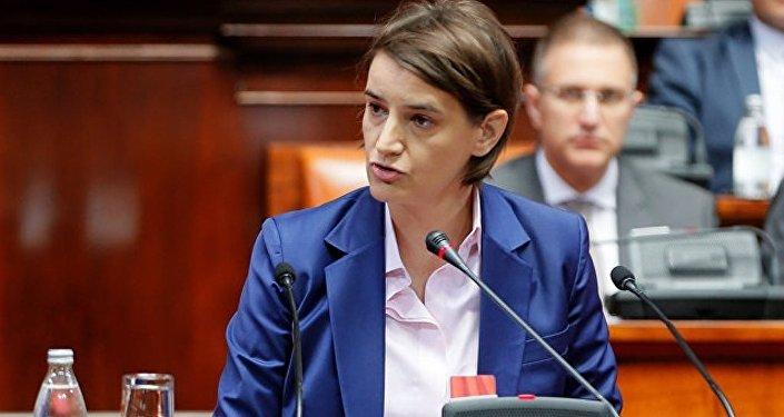 塞尔维亚总理安娜·布尔纳比奇