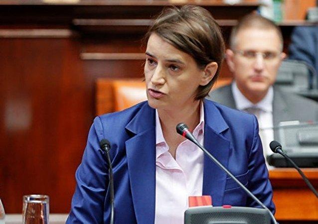 塞总理:塞尔维亚有意学会俄在高技术领域的经验