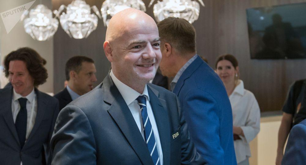 国际足联主席感谢俄罗斯成功举办本届联合会杯