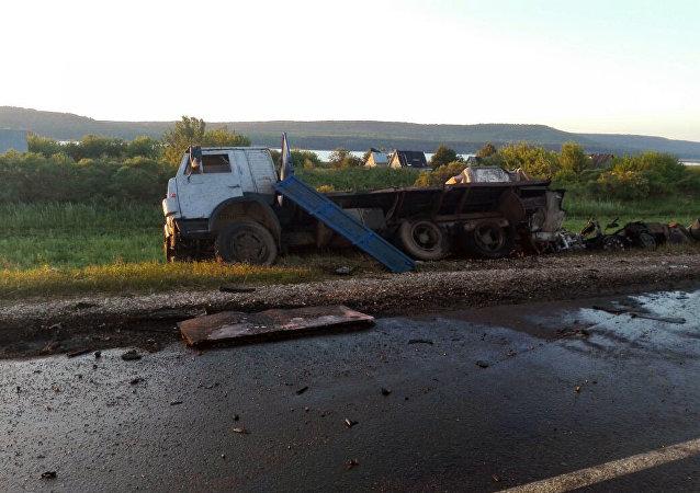 俄鞑靼斯坦内务部:车祸肇事司机已被拘留