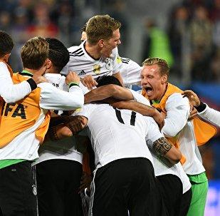 联合会杯决赛德国队战胜智利队夺冠
