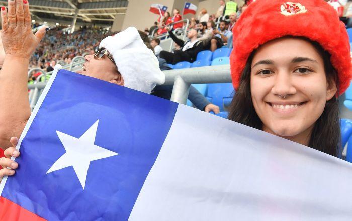 超过60万人观看俄罗斯联合会杯比赛