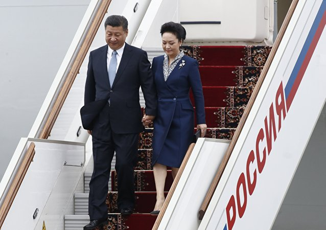 中国国家主席习近平抵达莫斯科,开始对俄罗斯进行国事访问
