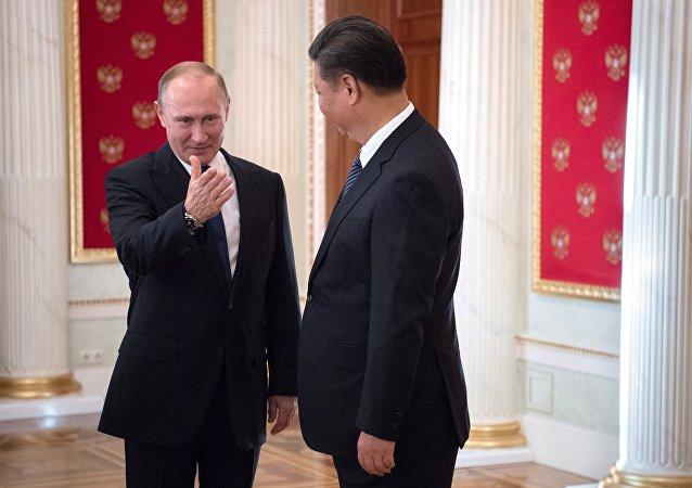 普京与习主席