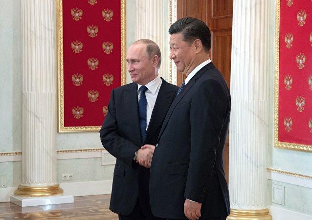 普京在致中国国家主席习近平的贺电中重申,愿意增进俄中战略合作