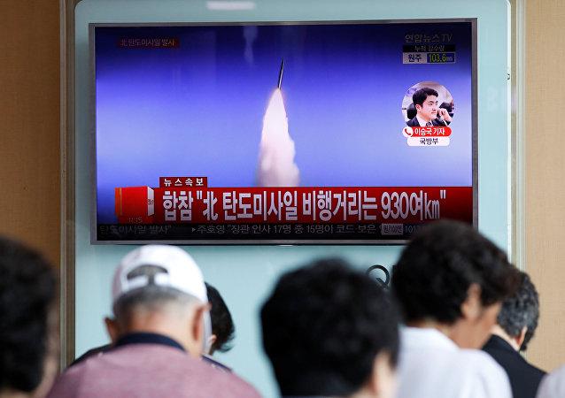 俄外长拉夫罗夫证实俄国防部4日发布的消息,即朝鲜发射的是中程弹道导弹