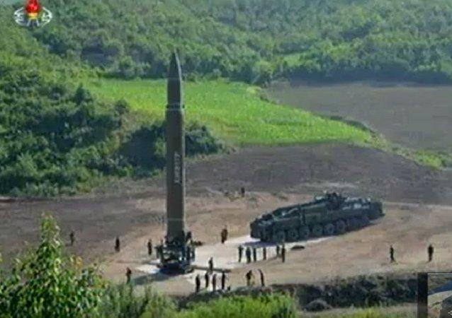 朝鲜导弹能在14分钟内飞抵关岛