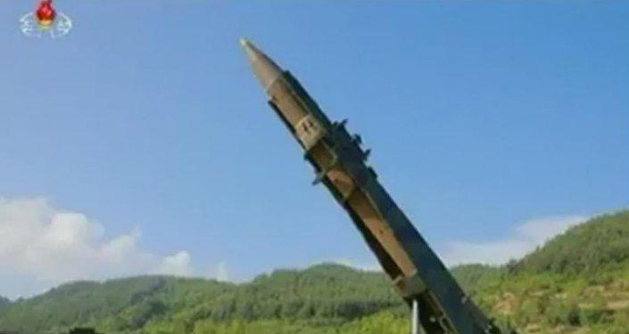 「火星-14」洲際彈道導彈