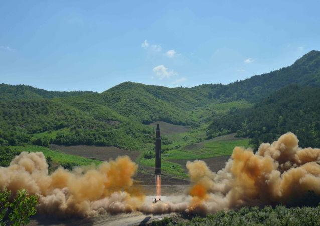 东京认为朝试射的导弹很可能是洲际导弹