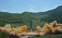 朝鮮導彈發射