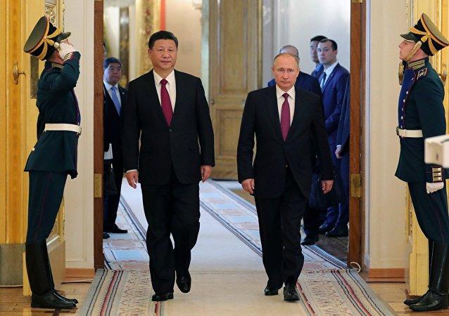 媒体:俄中合作从大项目谈判转向具体协议