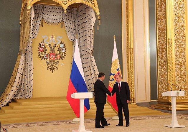 俄中G20峰会前夕进一步深化战略伙伴关系