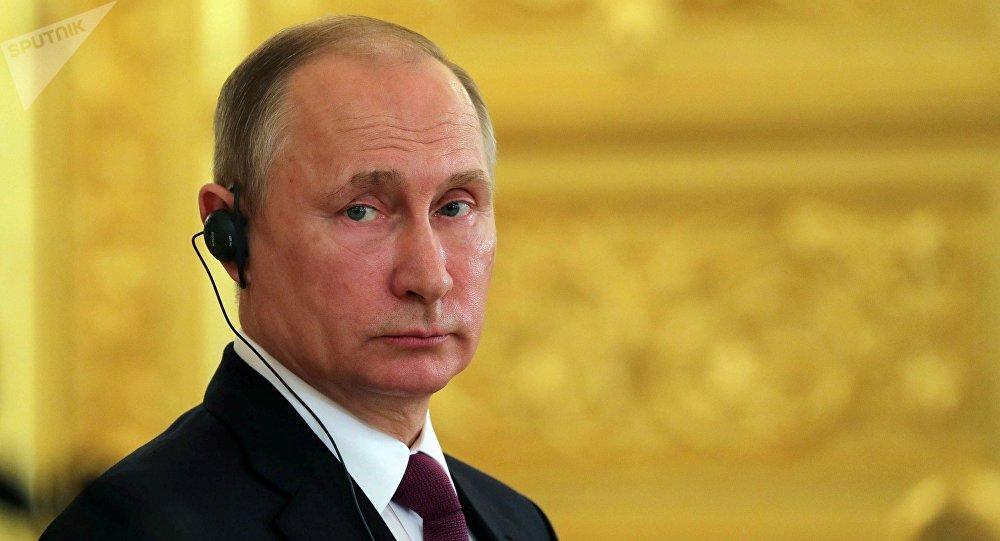 普京总统:俄在不导致冲突的情况下出口武器