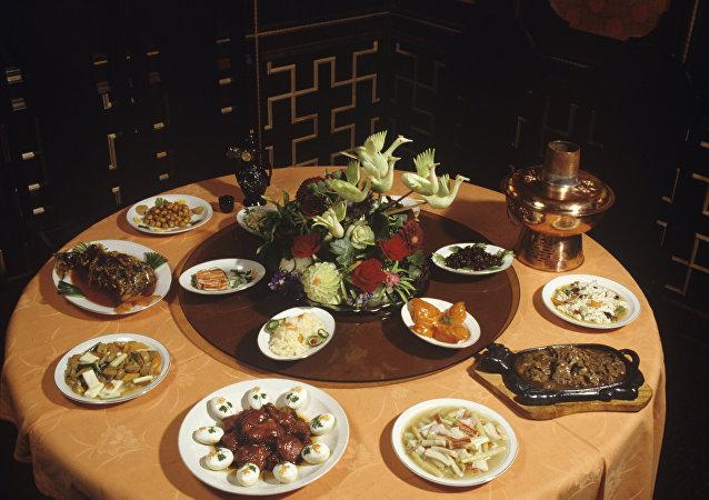 一家莫斯科中国餐厅
