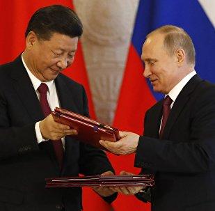 中国外交部:中方高度赞赏普京总统对当前中俄关系的积极评价