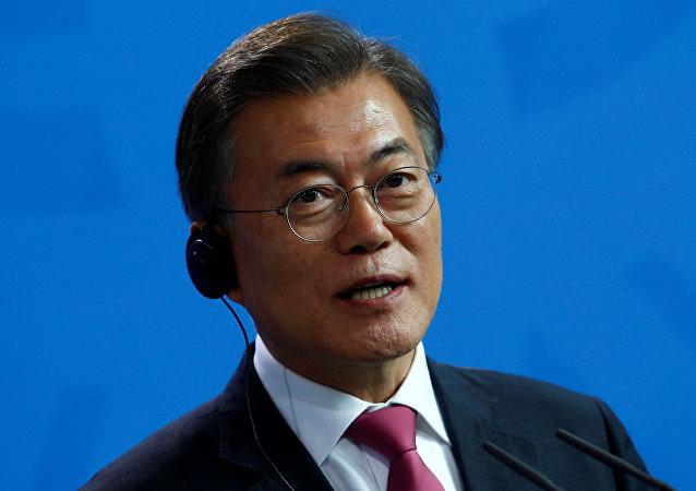 韩国总统:力争让韩中关系不受外部因素影响