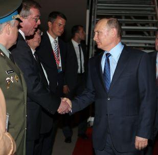 G20各国领导人抵达汉堡