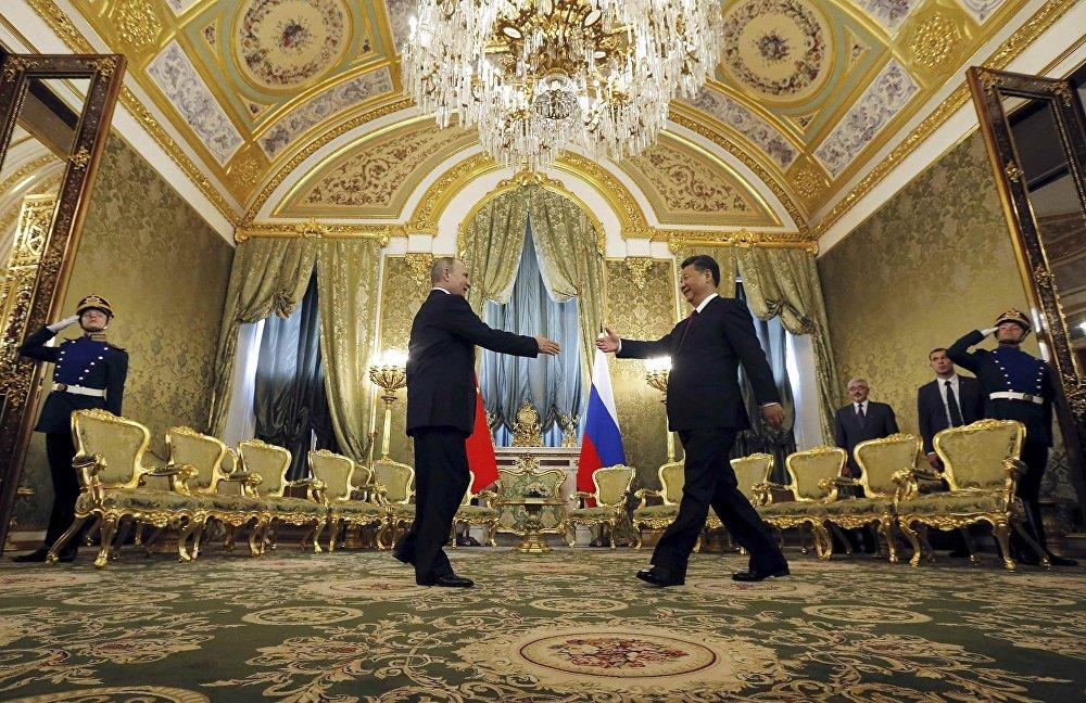 习近平主席这次对俄罗斯进行国事访问是今年来第3次出访