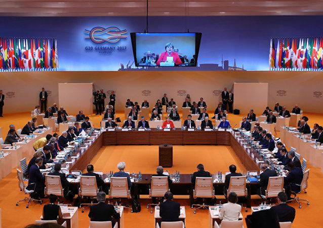 G20汉堡声明:G20呼吁各国切断恐怖主义的资金来源