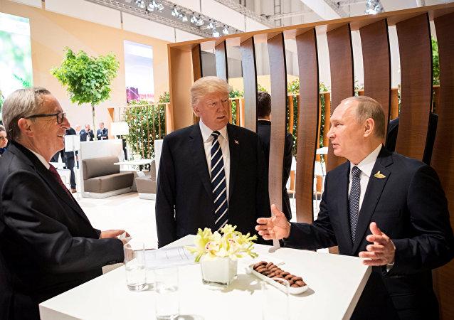特朗普:同普京会面未讨论制裁问题
