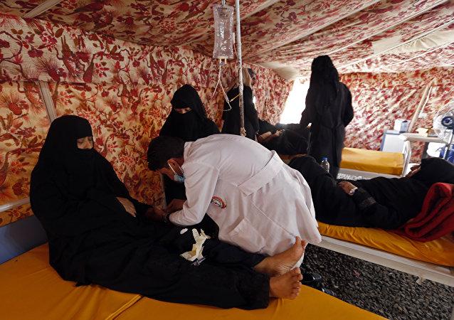 也门霍乱死亡人数超1600人