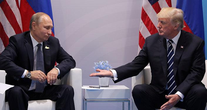 特朗普總統和普京總統之間實現了一次來之不易的會晤