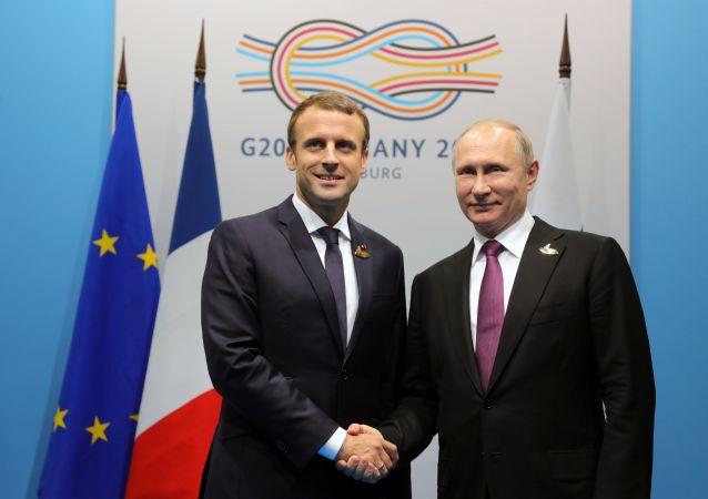 普京:俄开始就举办俄法社会论坛进行相关工作