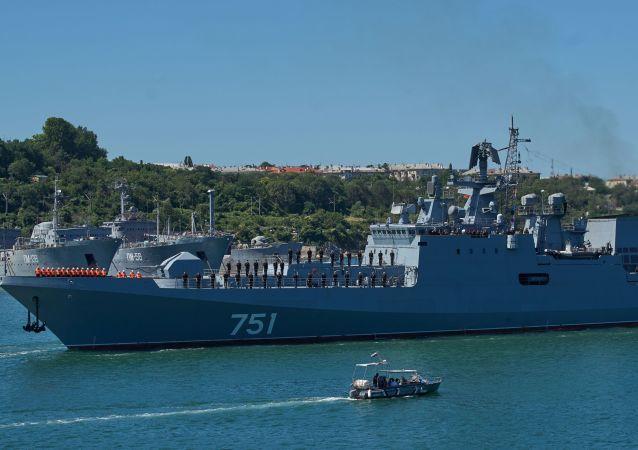 """""""埃森海军上将""""号护卫舰已前往叙利亚"""