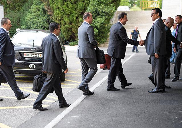 叙政府代表团已开始与联合国叙问题特使在日内瓦展开会谈
