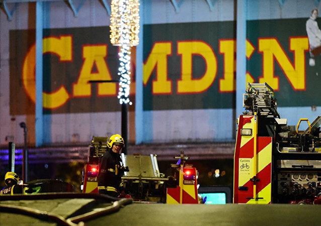 伦敦知名市集大火被扑灭