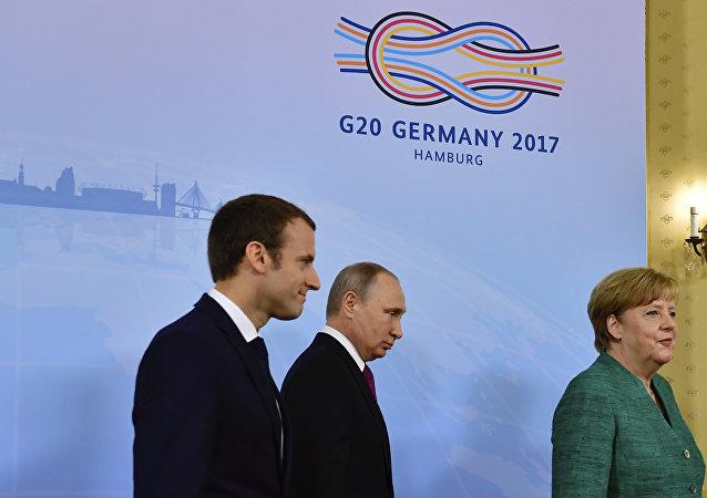 德俄法在G20峰会期间仅讨论过乌克兰问题