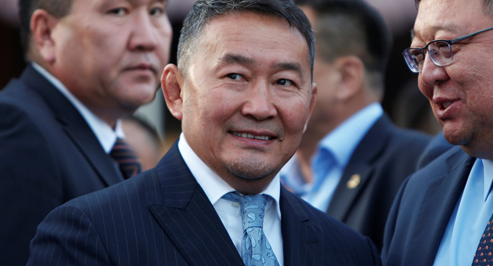 蒙古总统巴特图勒嘎