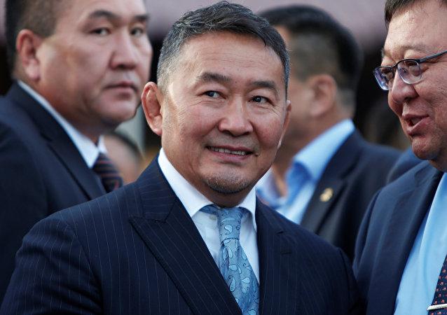 蒙古新总统巴特图勒嘎