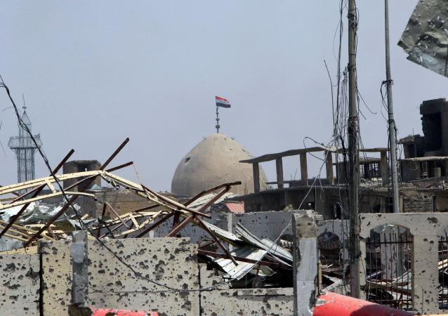 美国联军一名军人在伊拉克遭遇恐怖袭击身亡