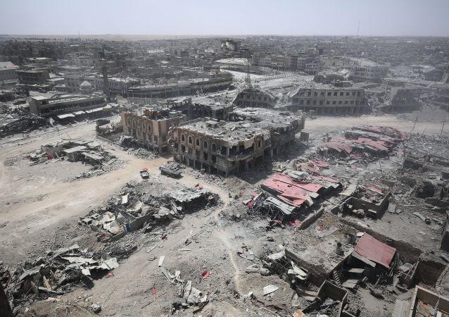 """美军指挥官:将""""伊斯兰国""""武装分子从摩苏尔清除还需数周"""