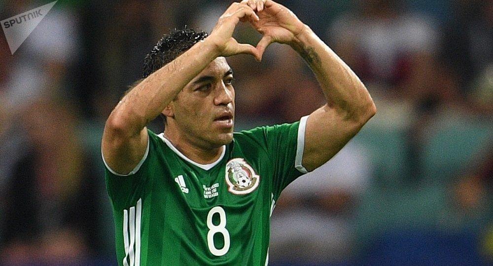 墨西哥前锋法比安对德国队的进球被评为2017年联合会杯最佳进球