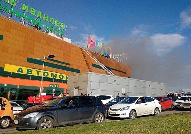 莫斯科里奥商场大火已经被扑灭