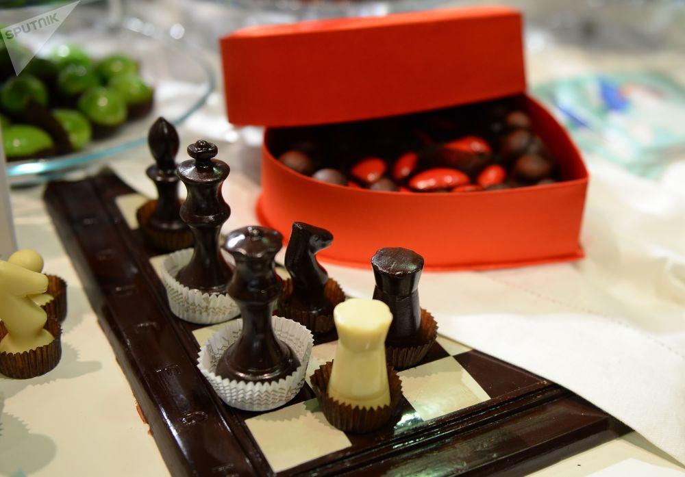 造型奇特的巧克力