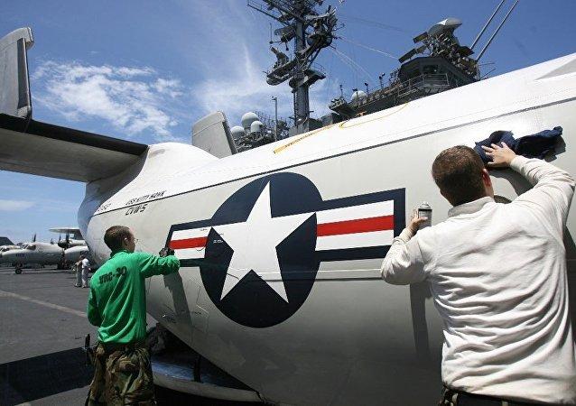 美印日向中国展示海上军事实力
