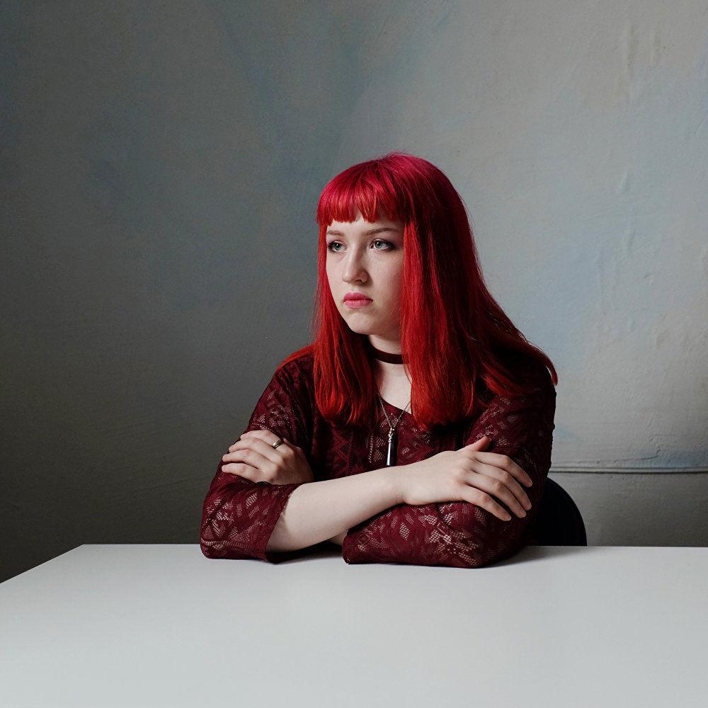 俄羅斯攝影師瑪麗雅·格爾曼系列作品《你是我的》之一