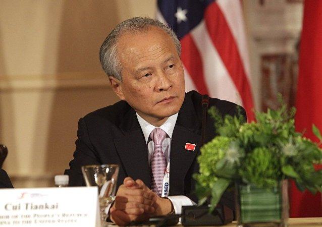 中国驻美大使崔天凯