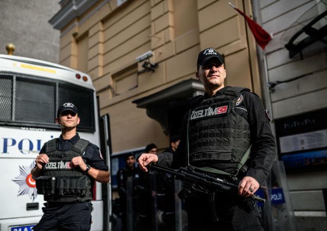"""土耳其已扣押超过230名与""""伊斯兰国""""恐怖组织有关的嫌疑人"""