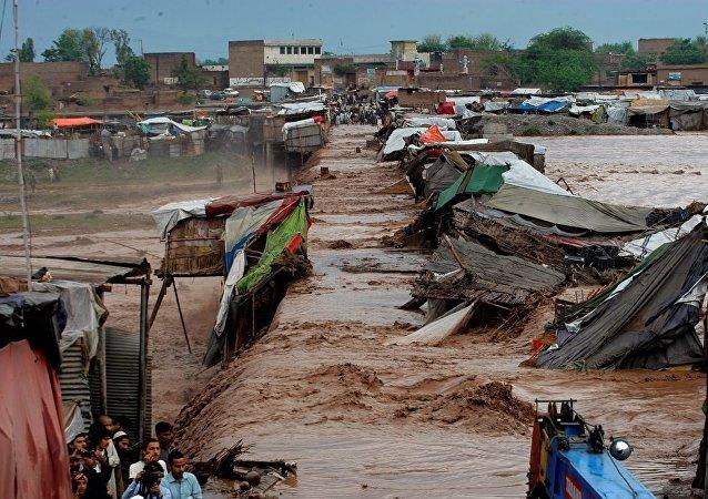 巴基斯坦洪灾