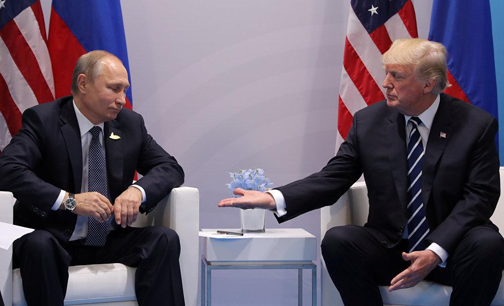 特朗普总统和普京总统之间实现了一次来之不易的会晤