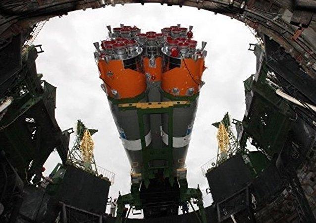 """俄罗斯""""联盟-2.1a""""火箭"""