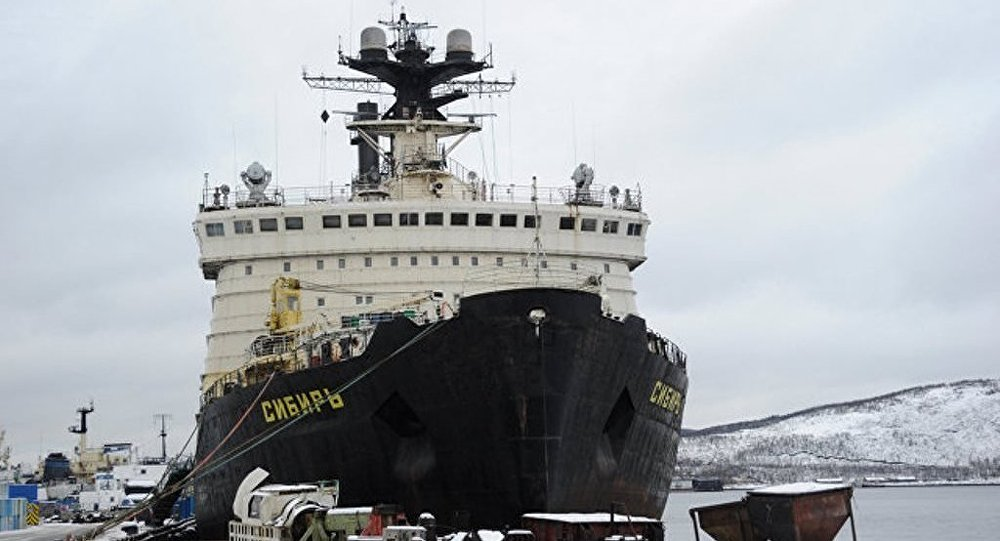 俄「西伯利亞」號核動力破冰船