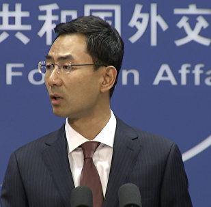 中国外交部新闻发言人耿爽